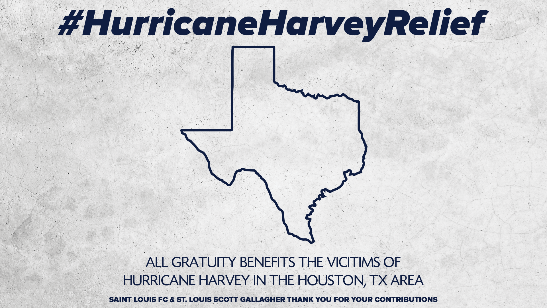 SLSG Supports Hurricane Harvey Relief Efforts