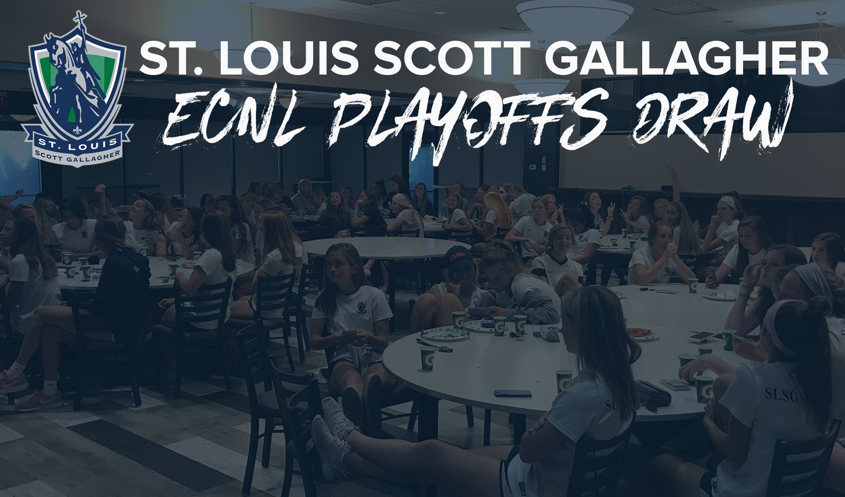 SLSG ECNL Program Gathers for ECNL Playoffs Draw