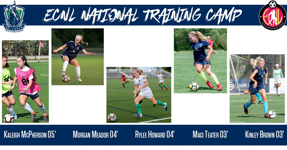 SLSG MO ECNL Players Invited to 2019 ECNL National Training Camp
