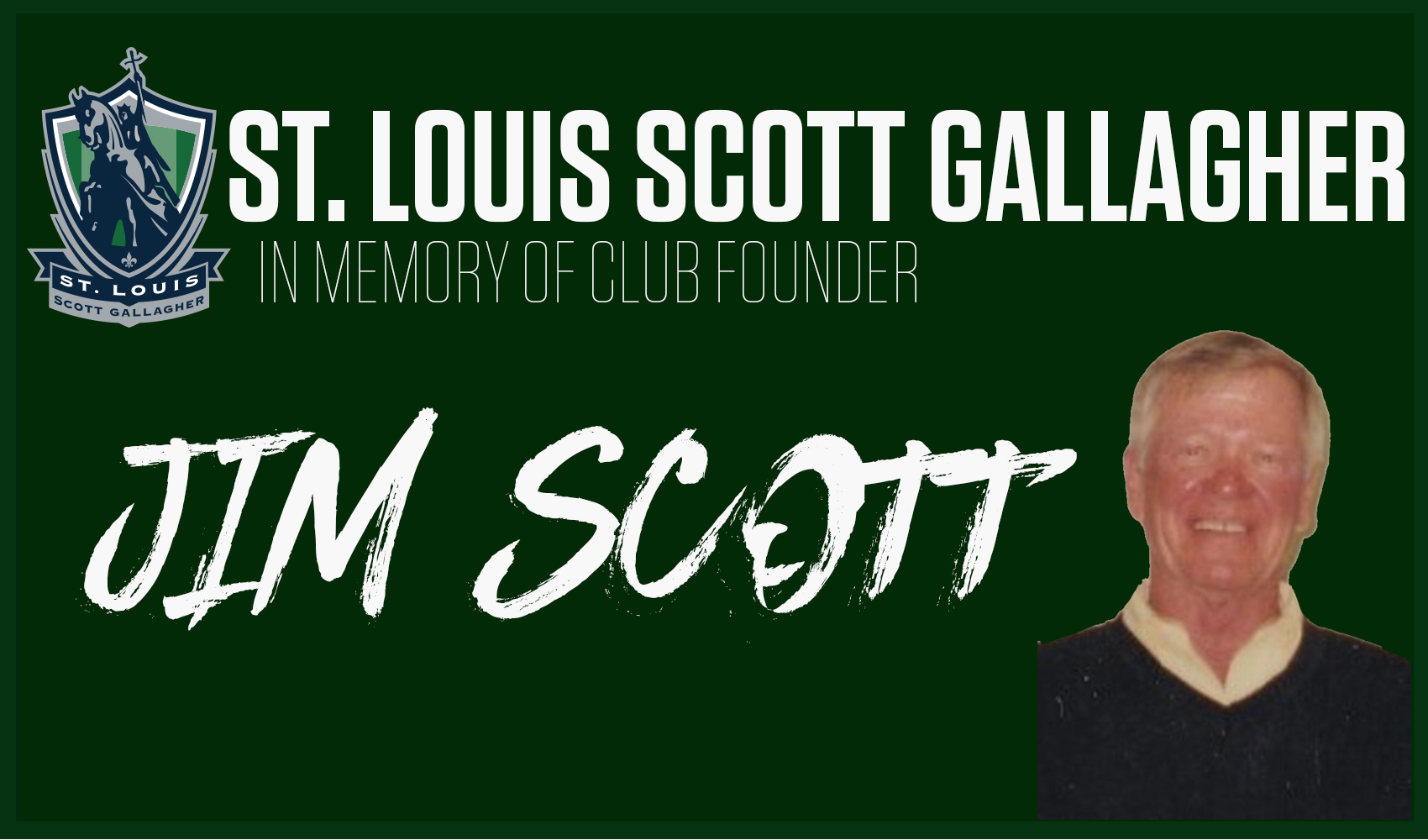 SLSG Remembers Club Founder Jim Scott