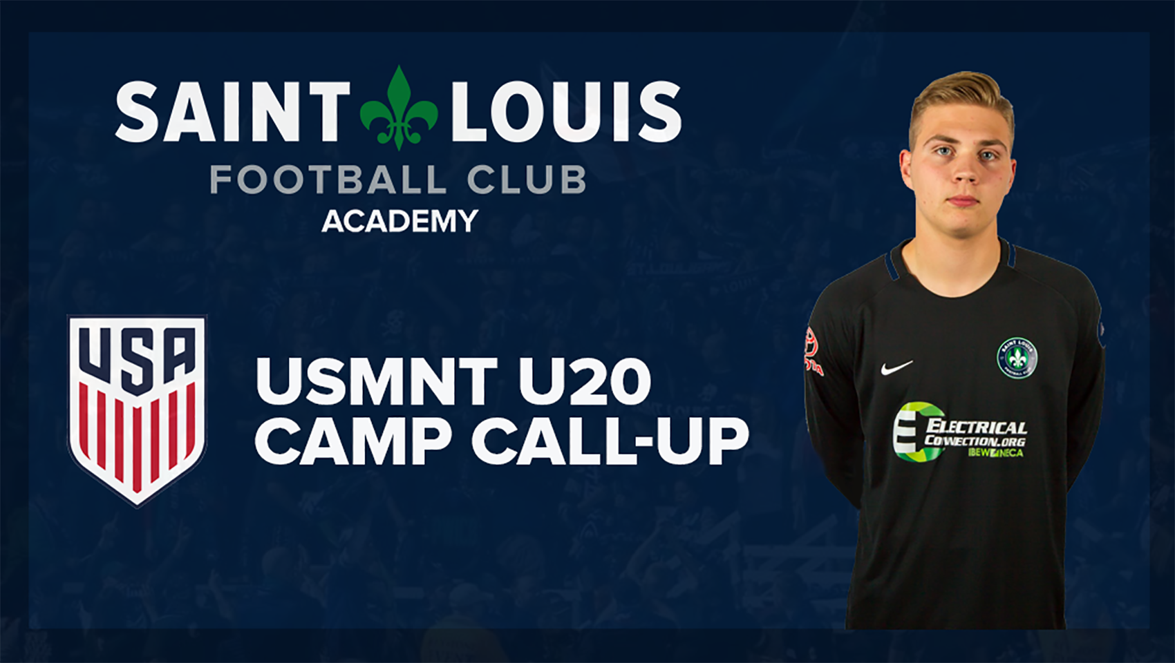 STLFC Academy Goalkeeper Seth Stiebel Called into USMNT U20 Camp
