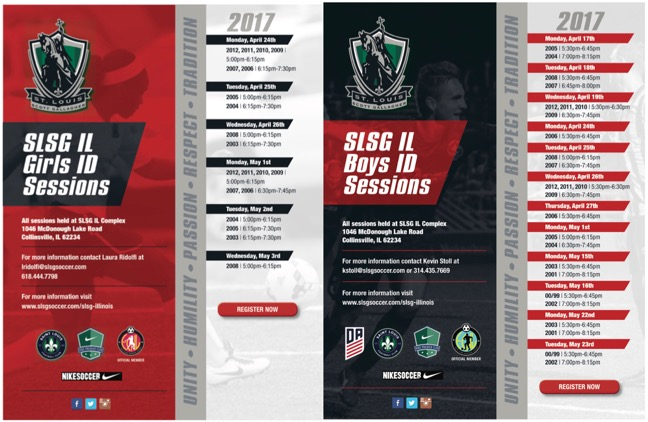 SLSG IL - Interested Player ID Sessions Registration