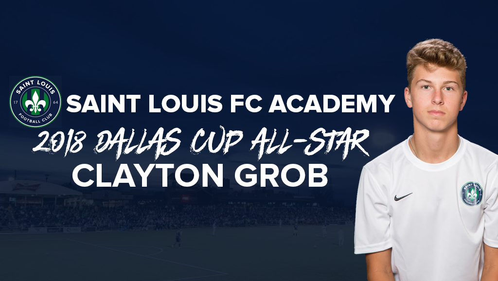 STLFC U16 Academy Player Clayton Grob Named to Dallas Cup All-Star Team
