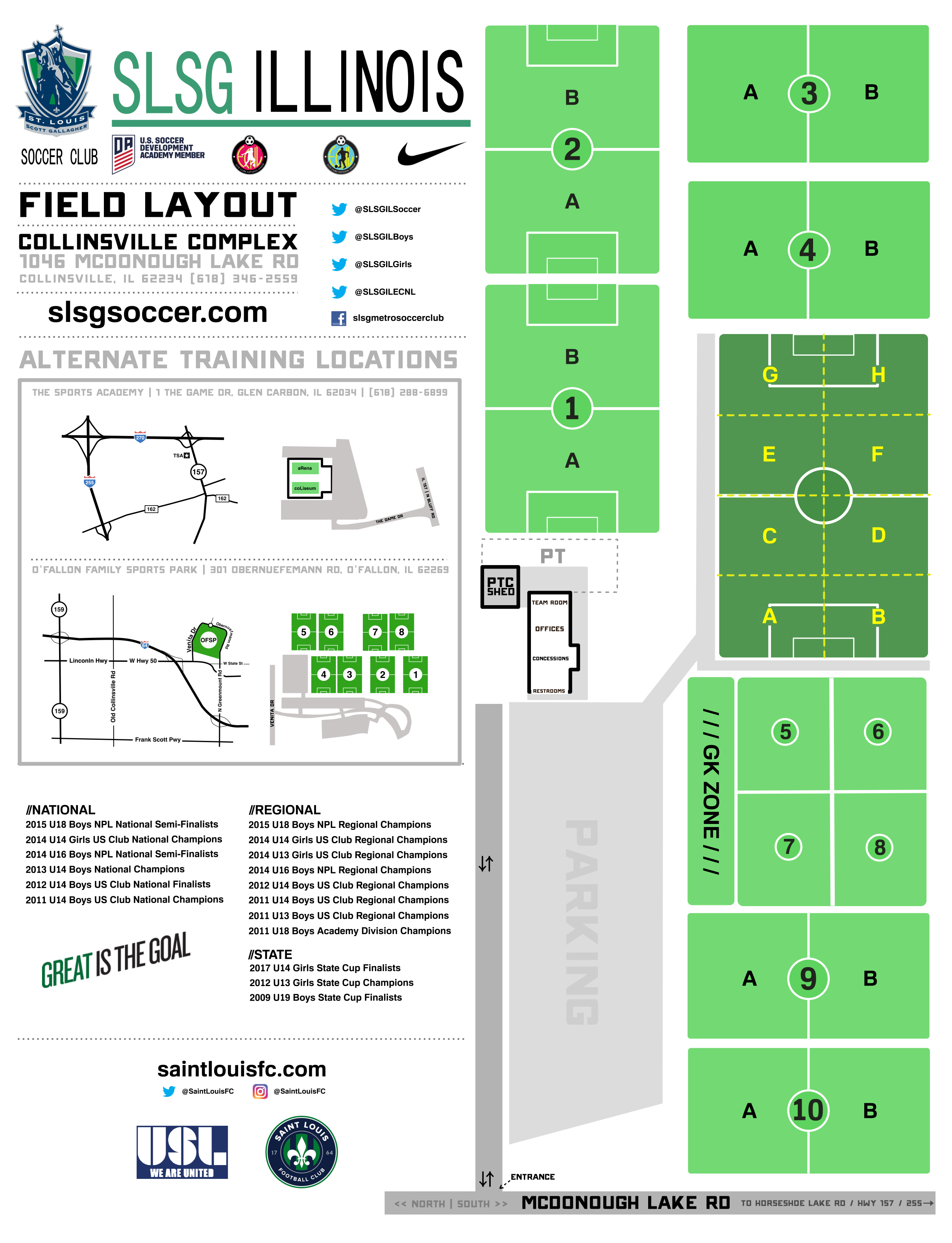 St. Louis Scott Gallagher Soccer Club | SLSG Field Map on salt lake city on us map, portland on us map, kalamazoo on us map, anchorage on us map, san francisco on us map, jackson on us map, chicago on us map, manchester on us map, lincoln on us map, madison on us map, boston on us map, cleveland on us map, durham on us map, milwaukee on us map, sacramento on us map, oakland on us map, little rock on us map, new orleans on us map, loudoun county on us map, independence on us map,