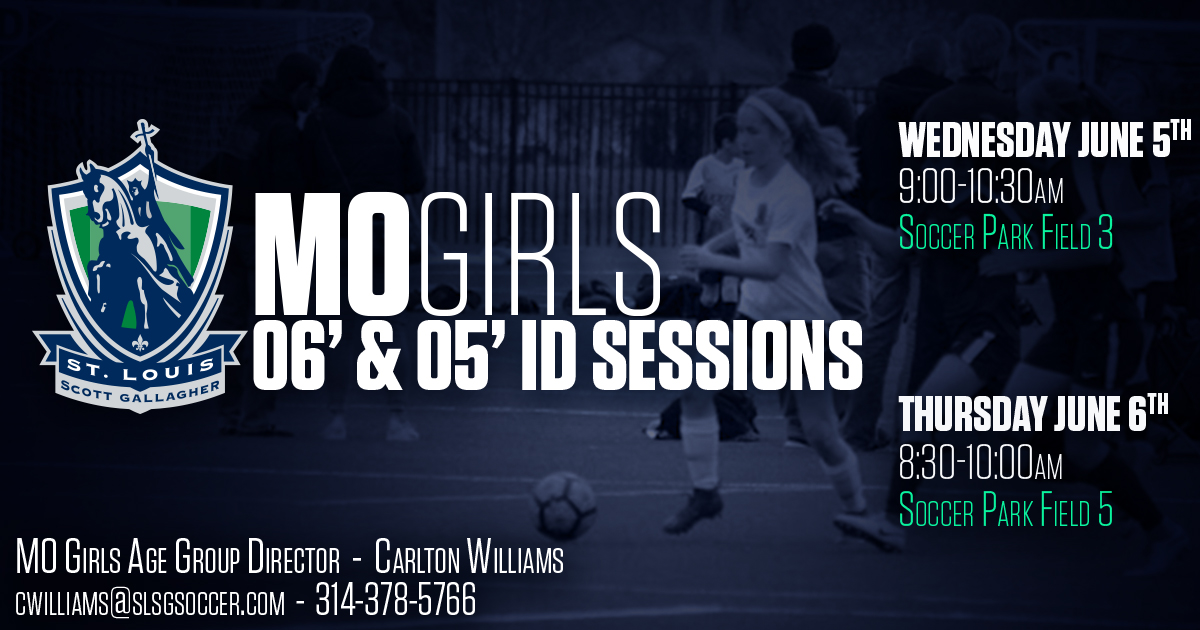 SLSG MO GIRLS 06 & 05 ID SESSIONS
