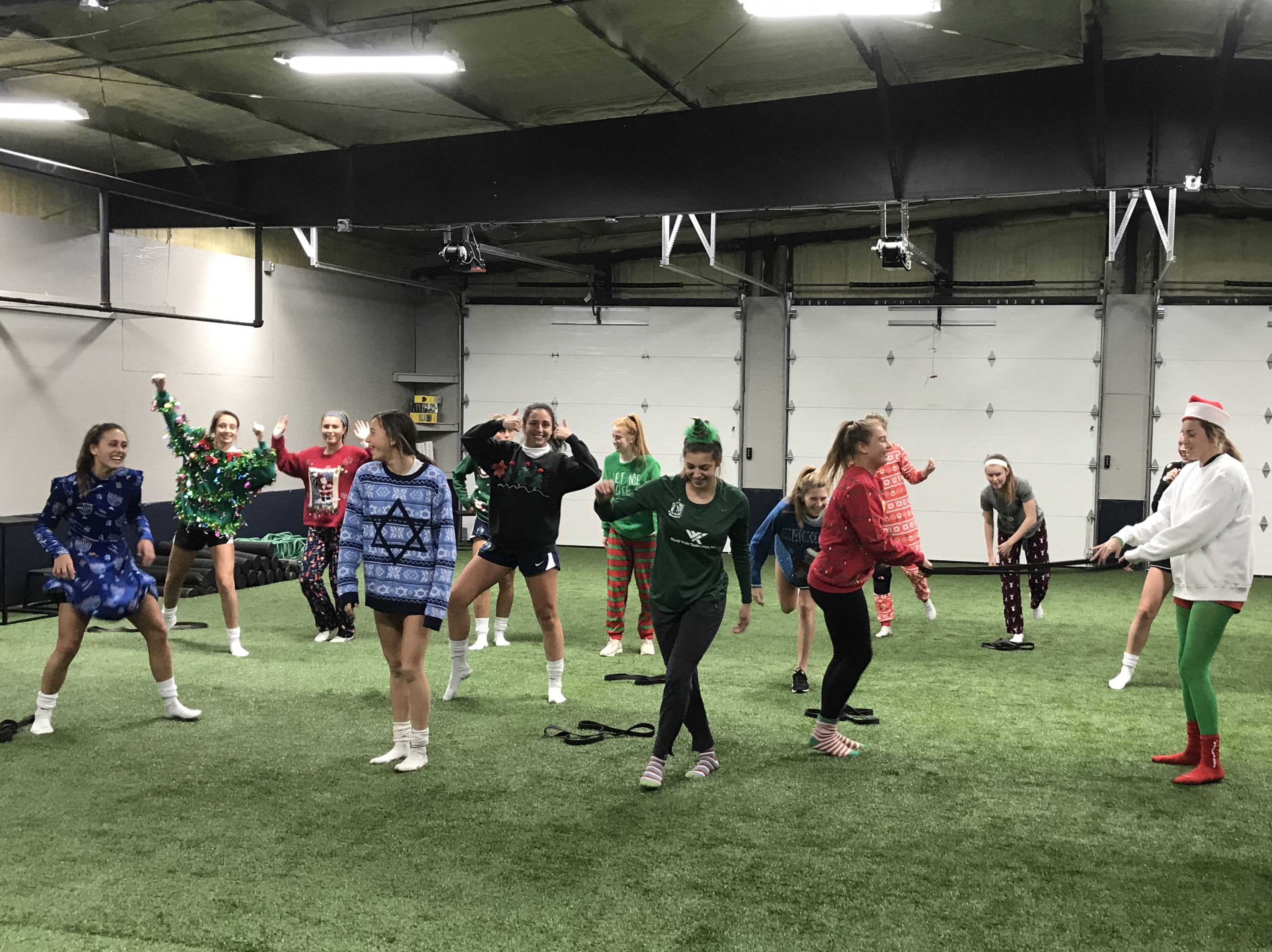 ECNL Xmas Training Session