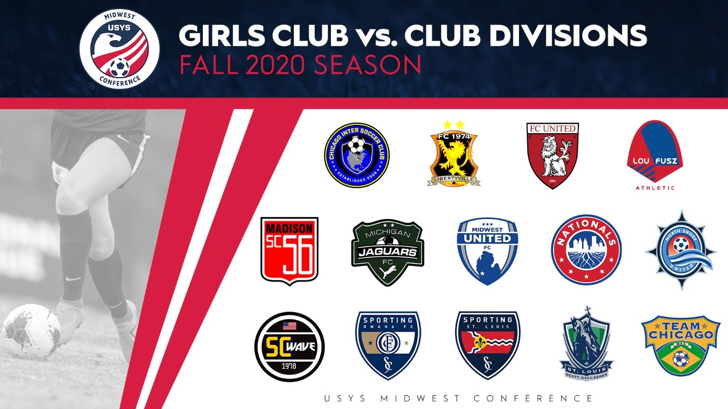 SLSG Girls U15-U19 Accepted into Midwest Conference Club vs. Club Division