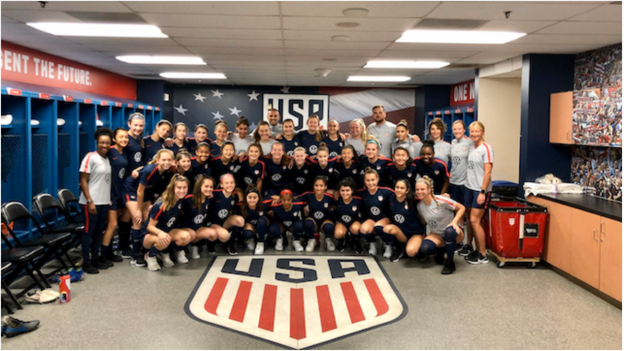 SLSG ECNL Girls Called Into National Camps