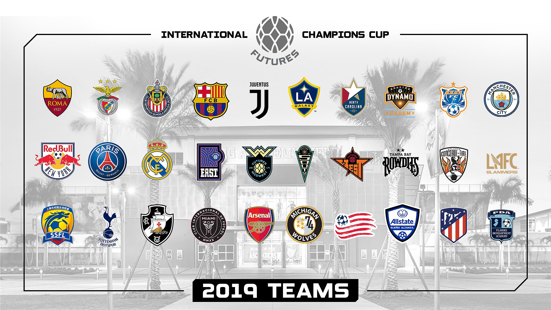SLSG Girls Feature at International Champions Cup
