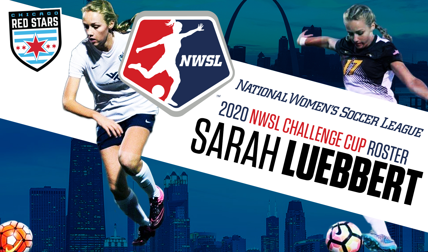 SLSG's Luebbert Signs with NWSL's Chicago Red Stars