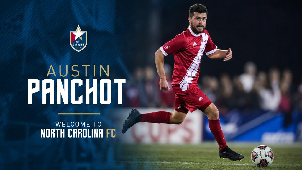 SLSG Alum Austin Panchot Signs with North Carolina FC