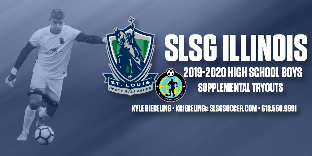 SLSG Boys ECNL & SLSG Illinois High School Boys Supplemental Tryout